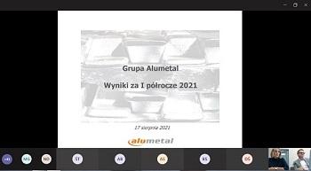 Alumetal widzi silny popyt w kolejnych kwartałach