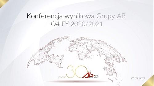 Grupa AB po rekordowym roku widzi silny popyt i rozwija zdywersyfikowany biznes